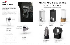 Rosseto   New Beverage Dispensers